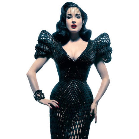 3D-printed dress for Dita Von Teese by Michael Schmidt and Francis Bitonti_inspirationist (5)