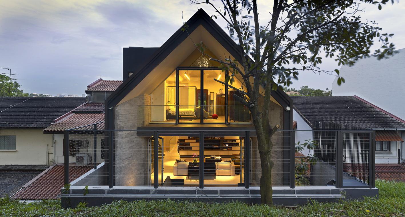 Дизайн крыш в частном доме