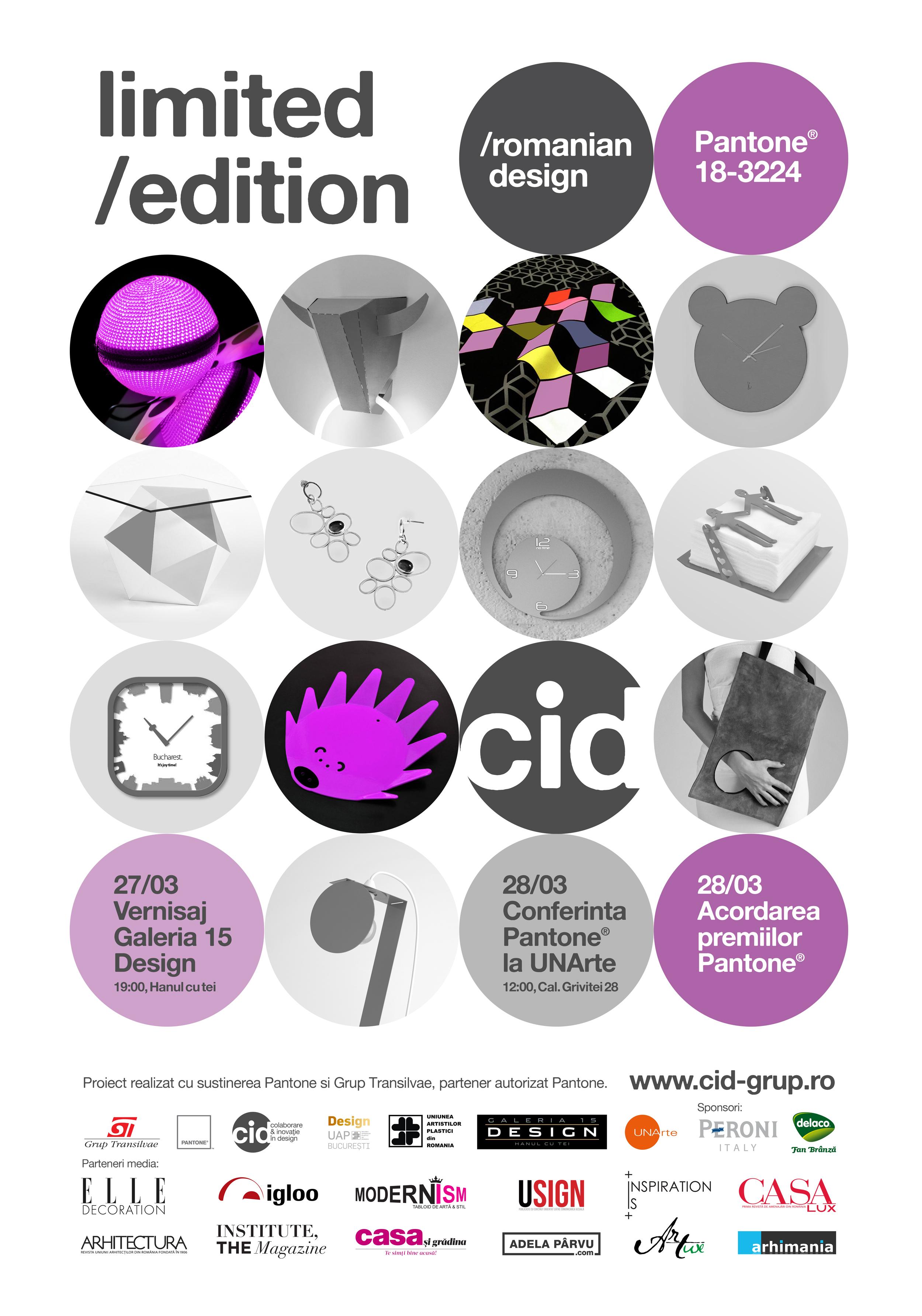 Poster design trends 2015 - Poster Design Trends 2015 Limited Edition Romanian Design Pantone 18 3224 Expo Working With Pantone