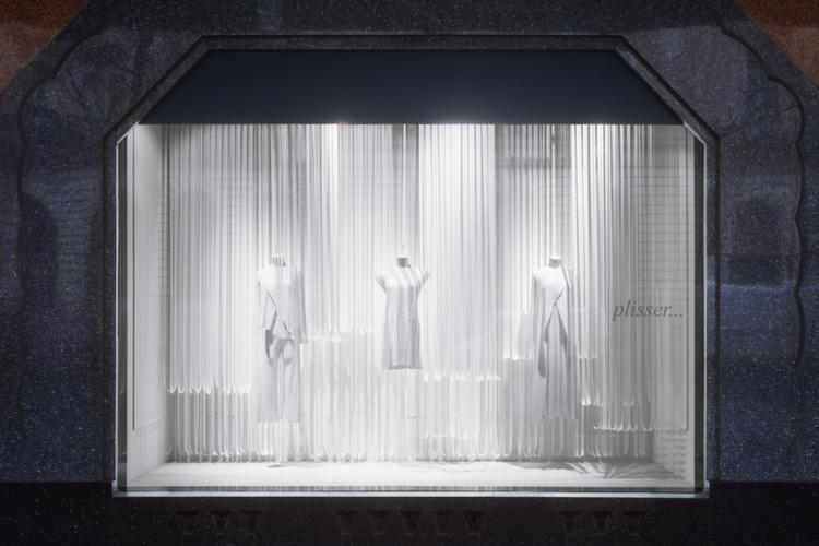 Window Display For Galeries Lafayette By Bonsoir