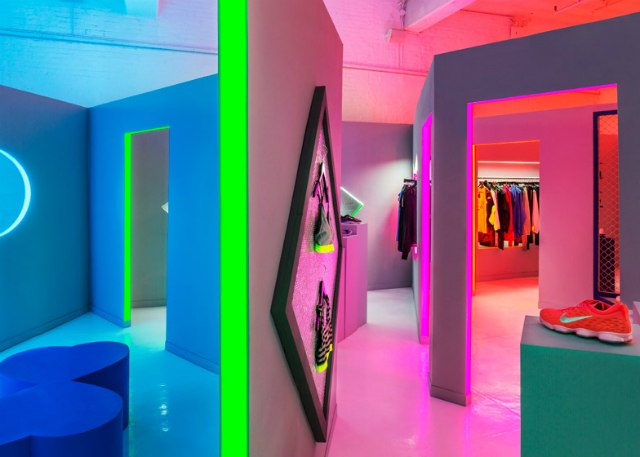 Nike Nyc Womenswear Pop Up Shop By Robert Storey