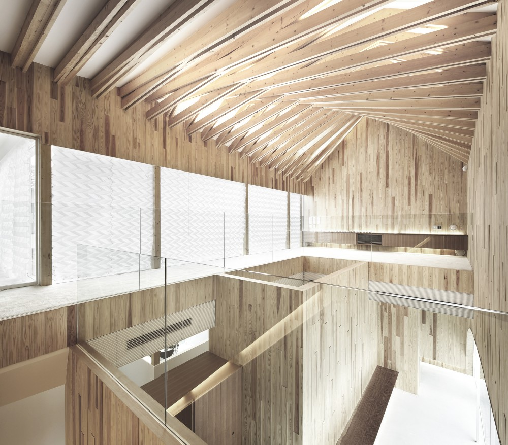 Ceiling Timber: Ip Design: Iconic Architecture Endeavors To Mend