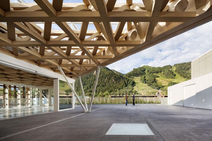 Aspen Art Museum By Shigeru Ban Architectsinspirationist