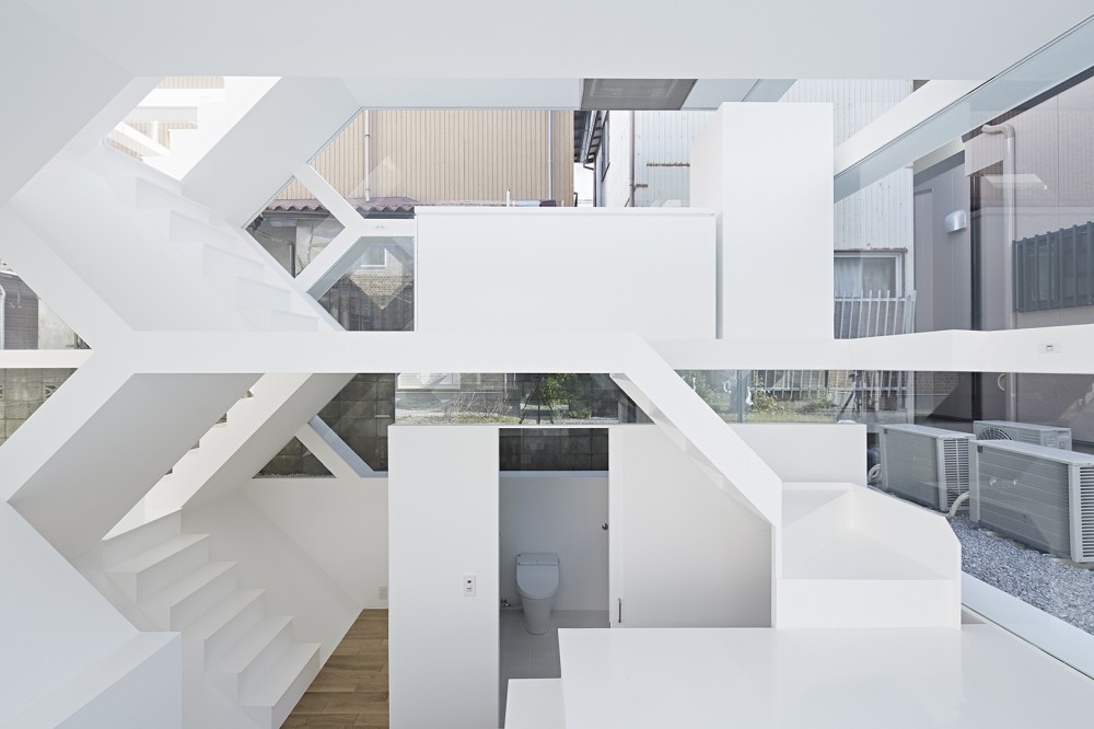 A new architectural form a complex layered network for New space architects