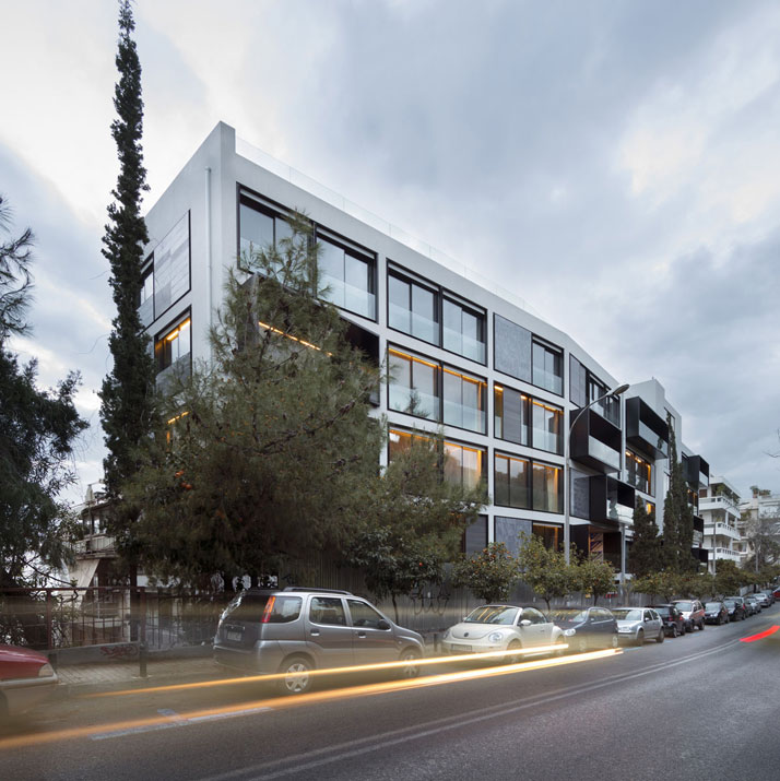 Apartment Building By C A Doxiadis And Divercity