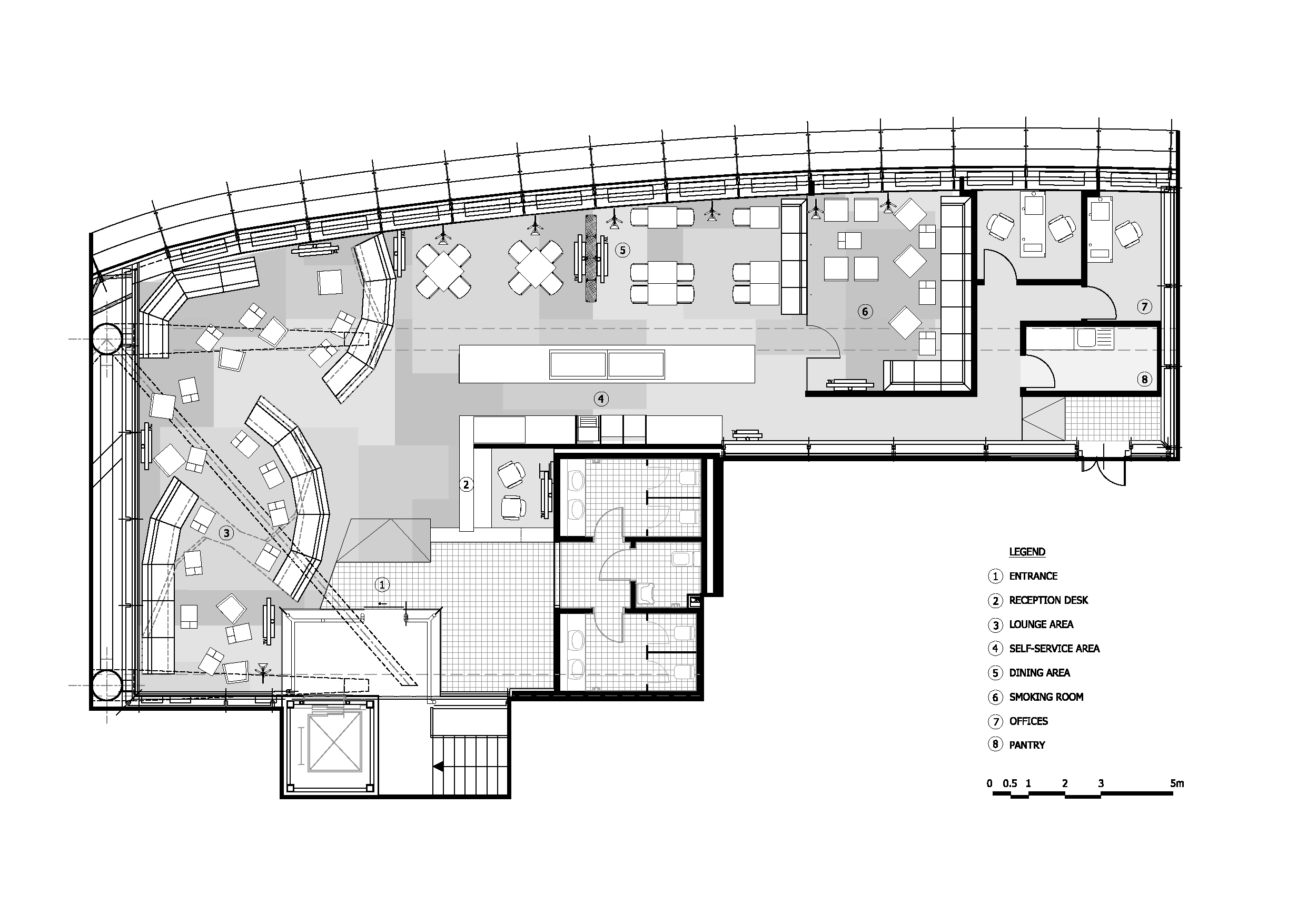 Airport lounge by nuca studioinspirationist inspirationist for 02 floor plan