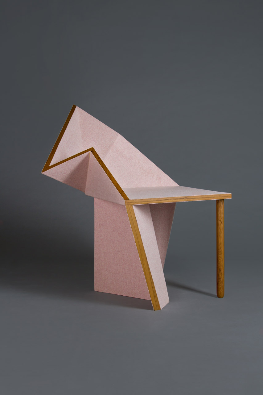 geometric furniture simple collection of geometric furniture and decorative objects inspired by origami forms