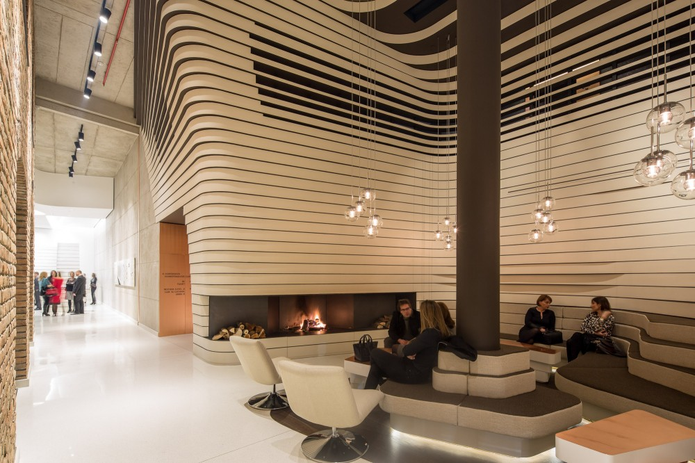 A re contextualization that fuses local heritage with for Modern contemporary hotel