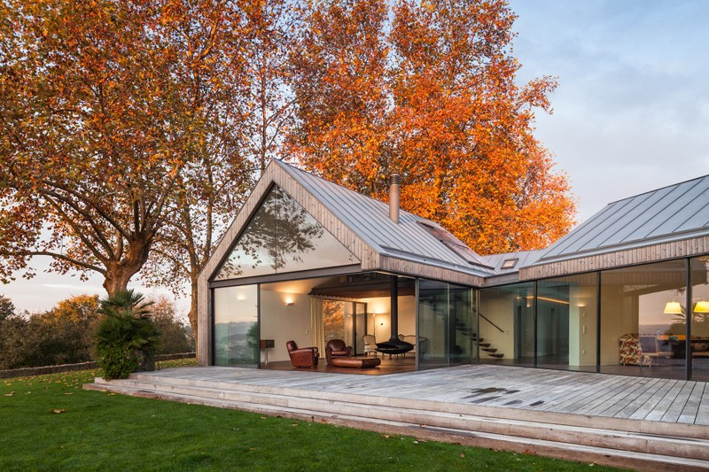 ... By Prod Architecture U0026 Design For A Family Of Four Is Located In The  North Of Portugal. Itu0027s Shape Is Defined By The Same Number Of Individual  Volumes.