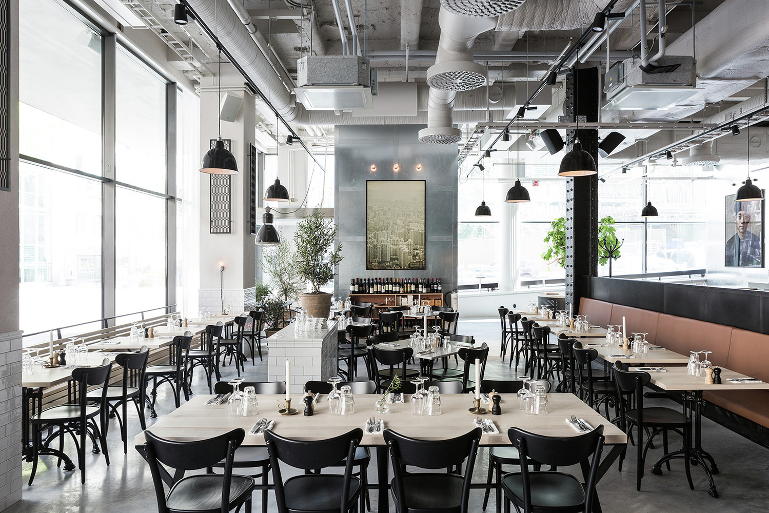 Usine Restaurant is inspired by Scandinavian minimalism  : 2Usine RestaurantRichard LindvallInspirationist from inspirationist.net size 1499 x 1000 jpeg 727kB