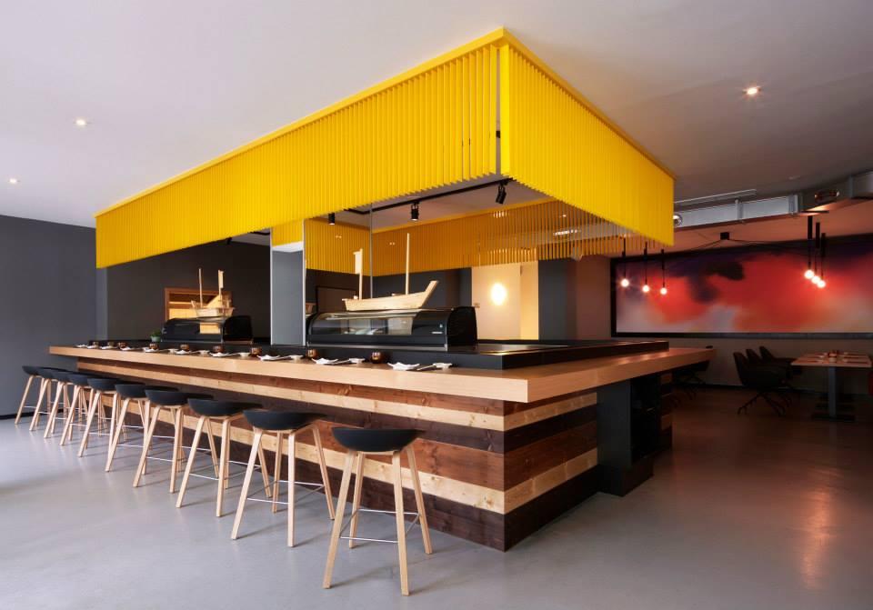 Restaurant tour total by leyk wollenberg architects for Restaurant interior design inspiration