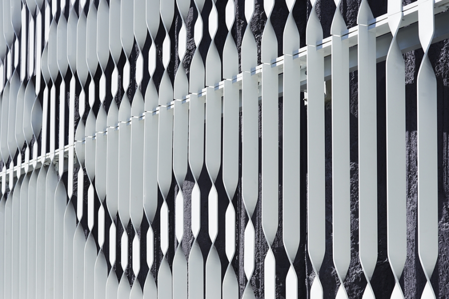 Facade pattern architecture  A facade pattern created by mapping movements of urban ...