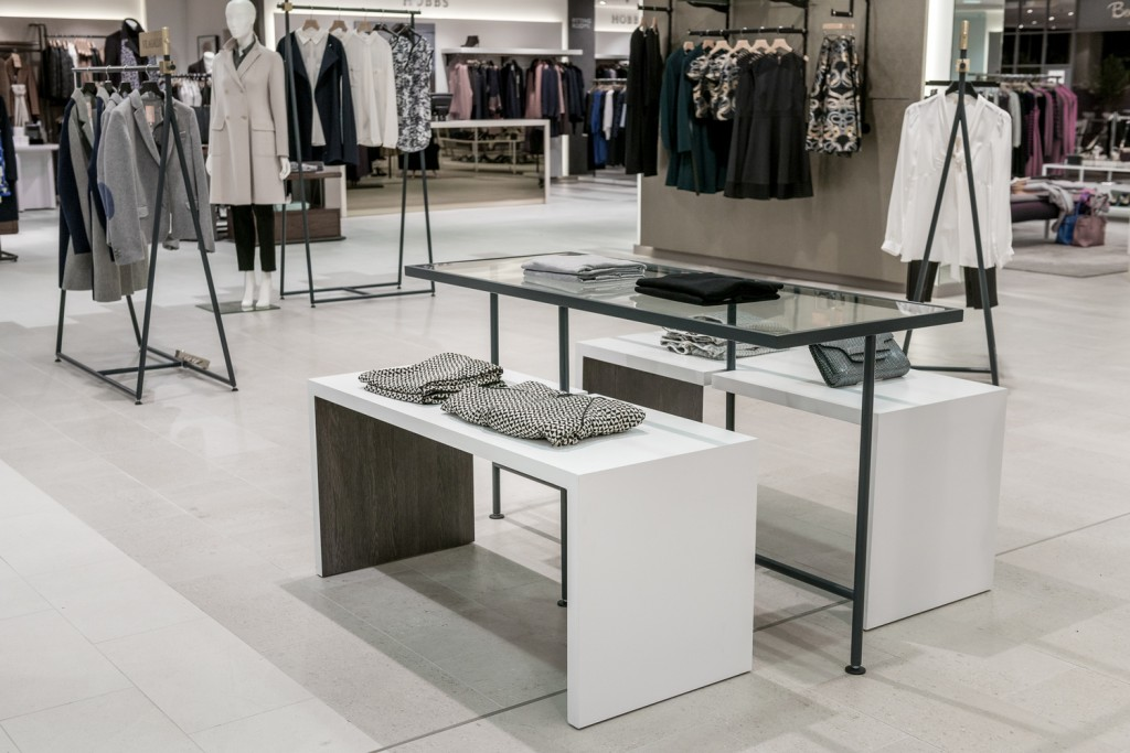 Furniss & May create a timeless, open backdrop for Jarrold s women s fashion and shoe lounge ...