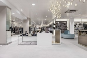 Furniss & May create a timeless, open backdrop for Jarrold's women's fashion and shoe lounge