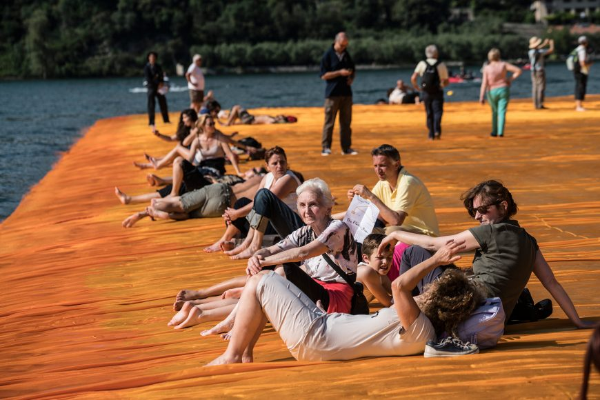 13_The Floating Piers_Christo and Jeanne Claude_Inspirationist