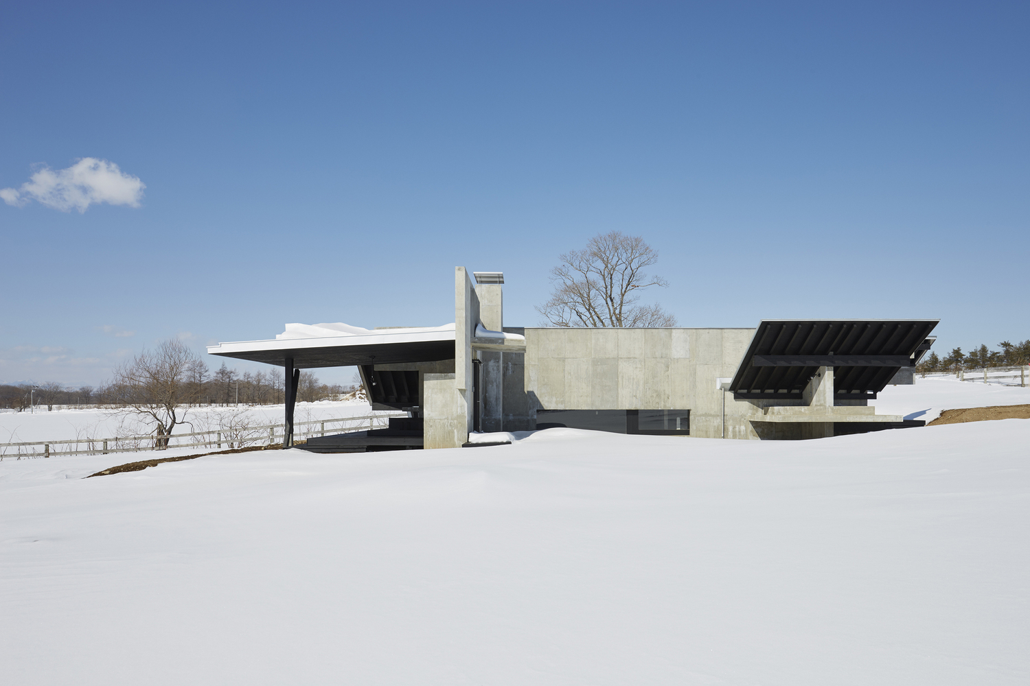 A House For Enjoying The Harsh Cold Inspirationist