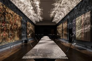 Layer creates landmark installation with Braun for the V&A during LDF