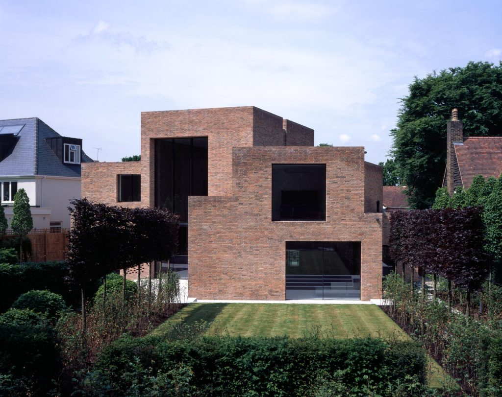 A north london house covered in bricks inside and out for Houses inside and out