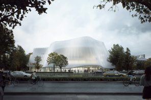 Beijing's new concert hall by MAD will be a peaceful cultural escape