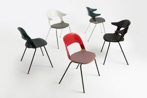 Pair Chair is a seating system with over 8,000 possible unique combinations