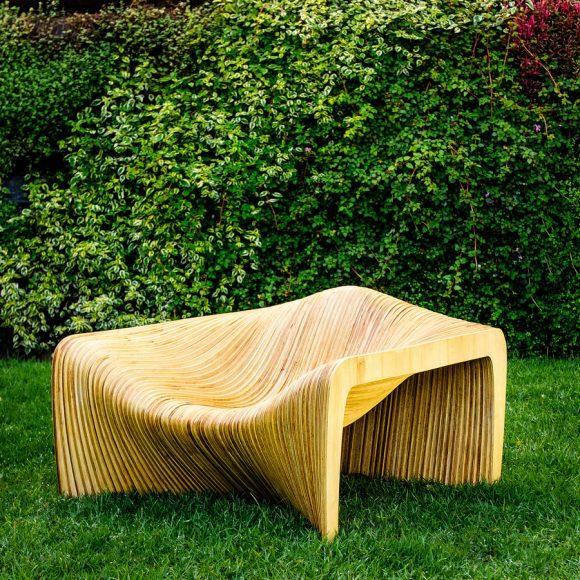 Duna Loungechair Lounge Chair by Mula Preta Design