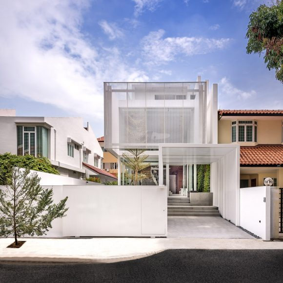 The Greja House Single Family Residential House by Park + Associates Pte Ltd