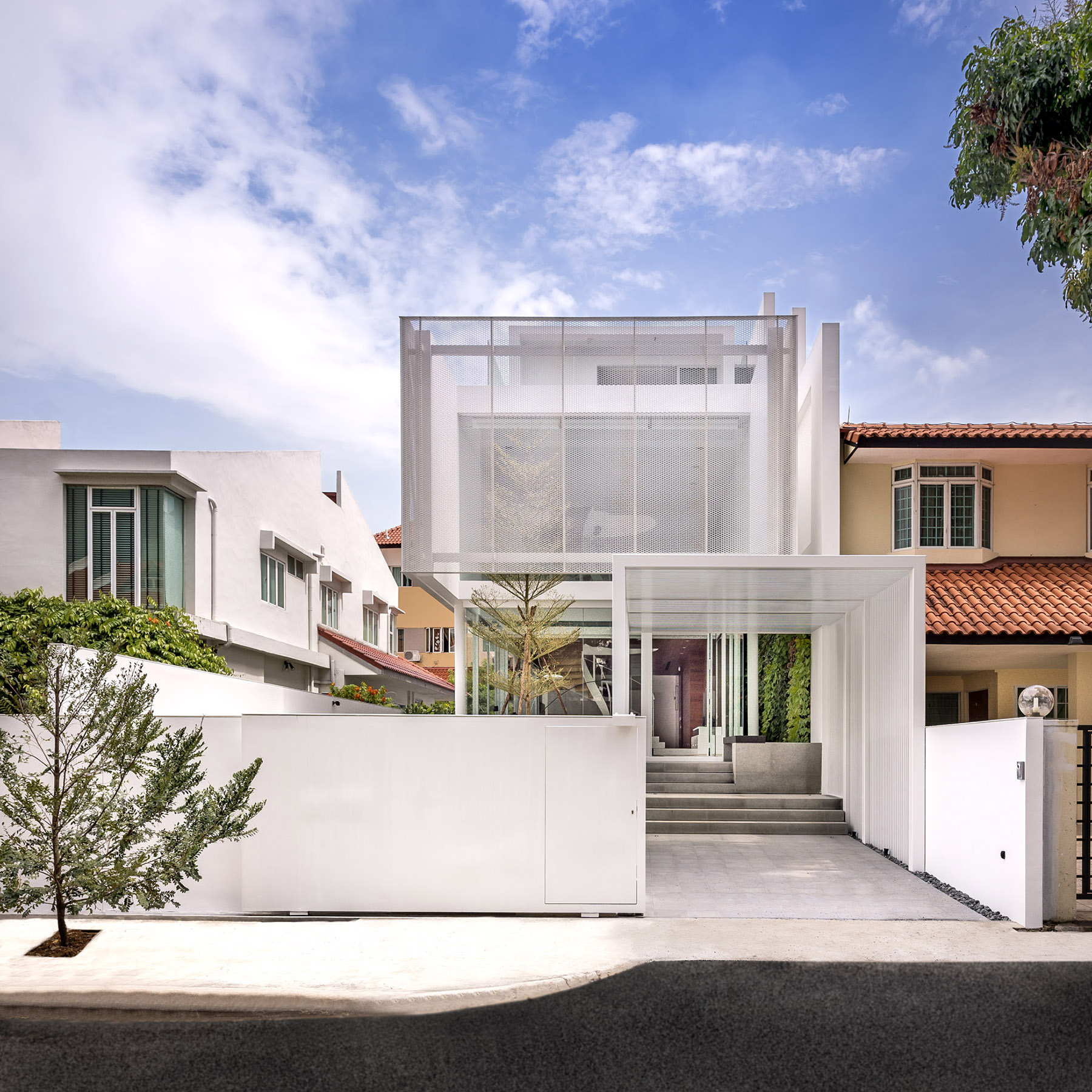 The Greja House Single Family Residential House by Park + Associates Pte Ltd