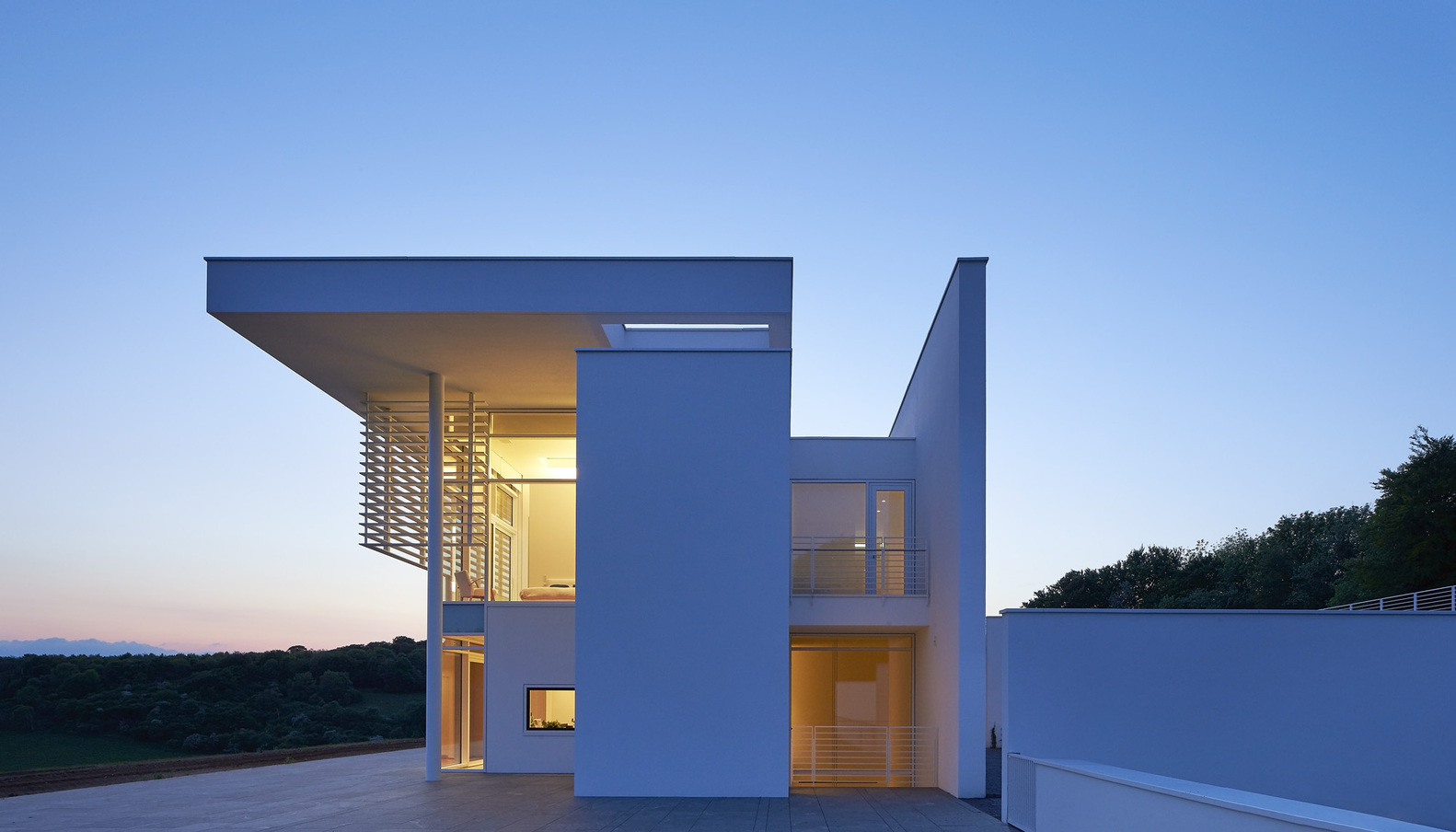 12_Oxfordshire Residence_Richard Meier & Partners_Inspirationist