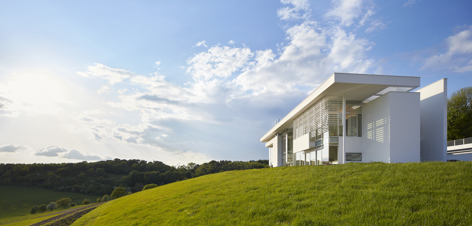 1_Oxfordshire Residence_Richard Meier & Partners_Inspirationist