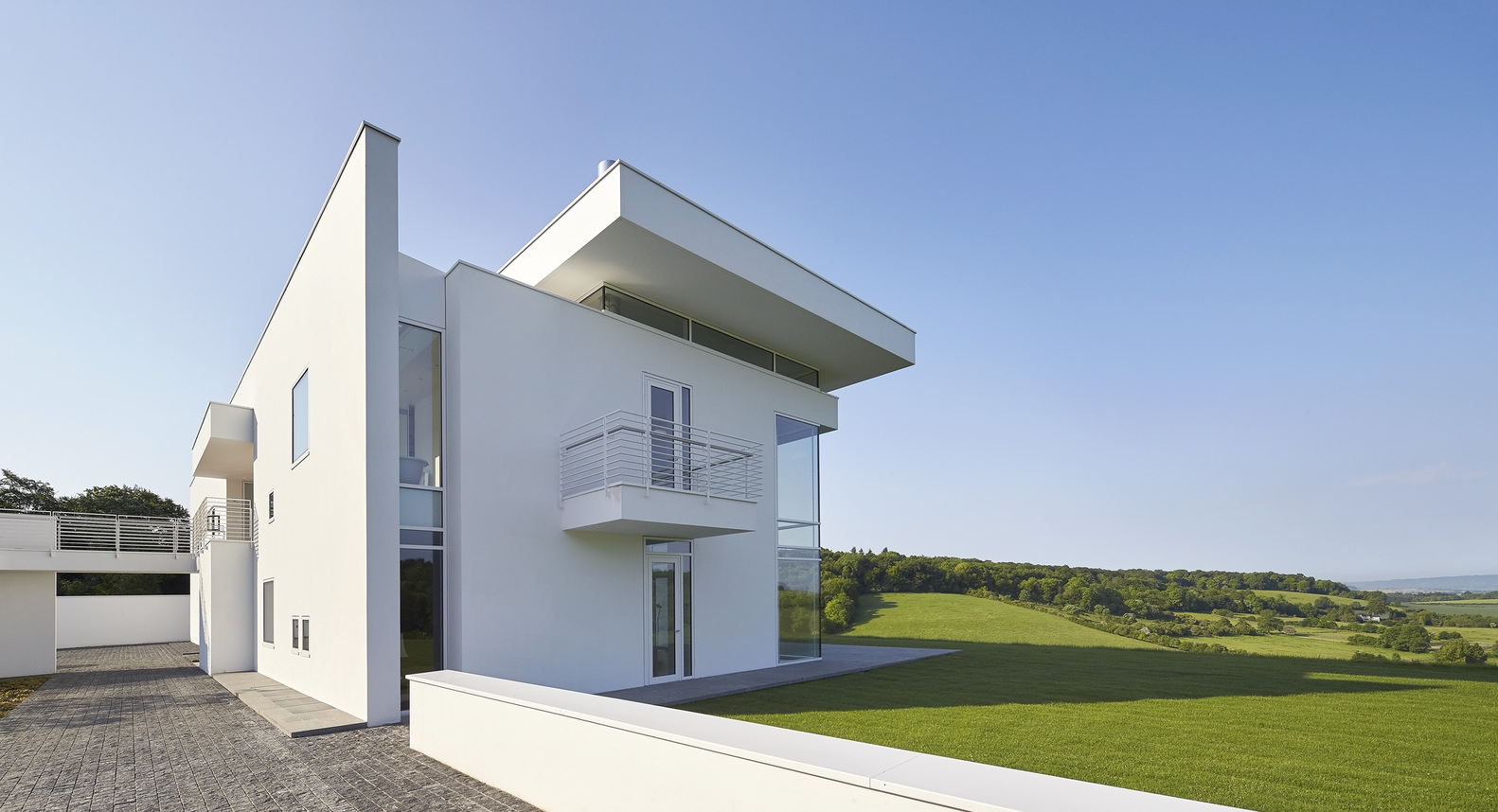 9_Oxfordshire Residence_Richard Meier & Partners_Inspirationist