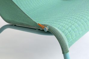 Tent Chair: the world's first 3D knit by Benjamin Hubert for Moroso