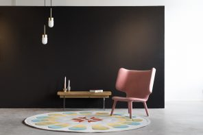 Dare to Rug's second hand-tufted rug collection is inspired by artefacts of the Neolithic Age
