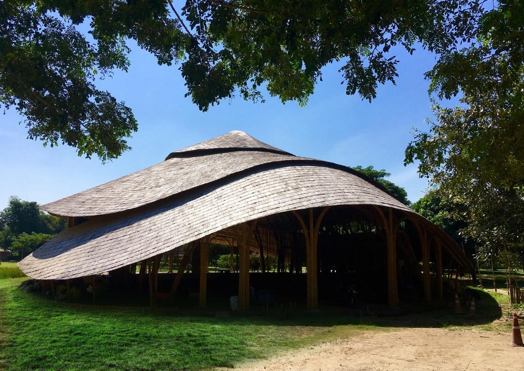 2_Bamboo Sports Hall for Panyaden International School_Chiangmai Life Construction_Inspirationis