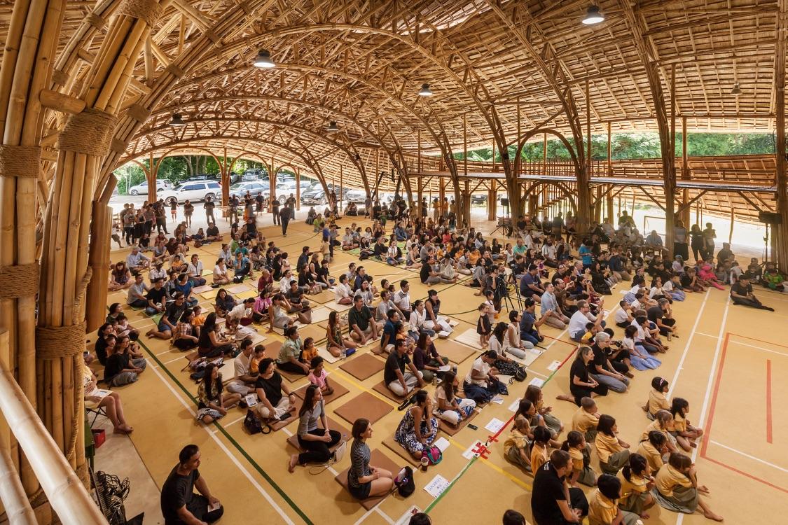 5_Bamboo Sports Hall for Panyaden International School_Chiangmai Life Construction_Inspirationis