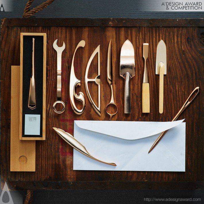 Memento Letter opener by Bryan Leung