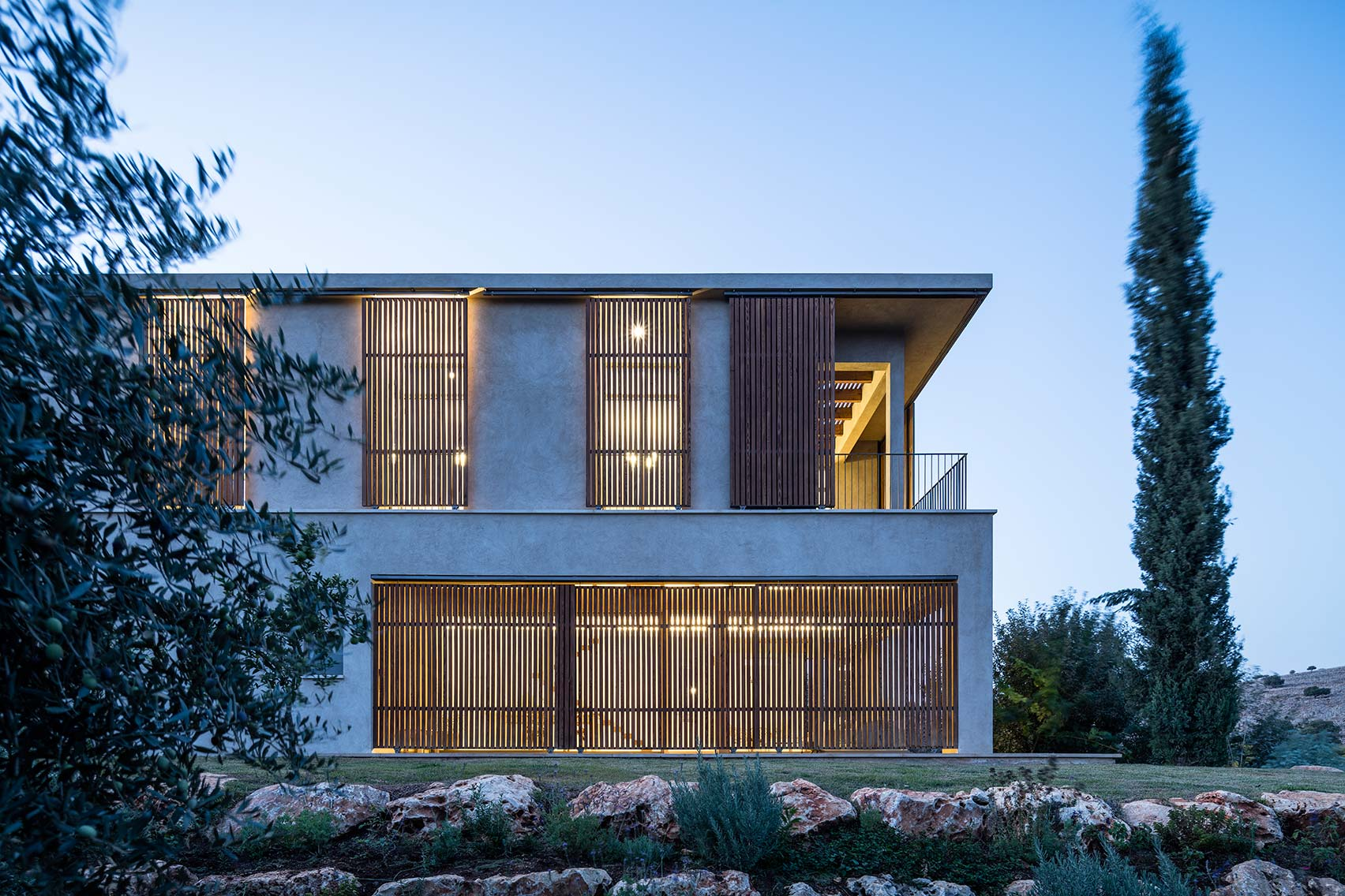 1_Golany Architects_Residence in the Galilee_Inspirationist