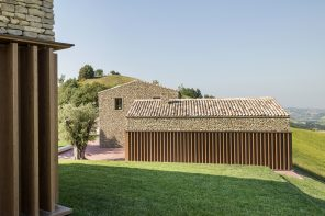 AP House Urbino: a dialogue between new buildings and historical stratification