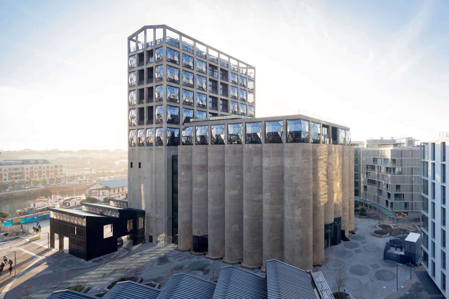 African Museum of Contemporary Art carved out of historic Grain Silo ...