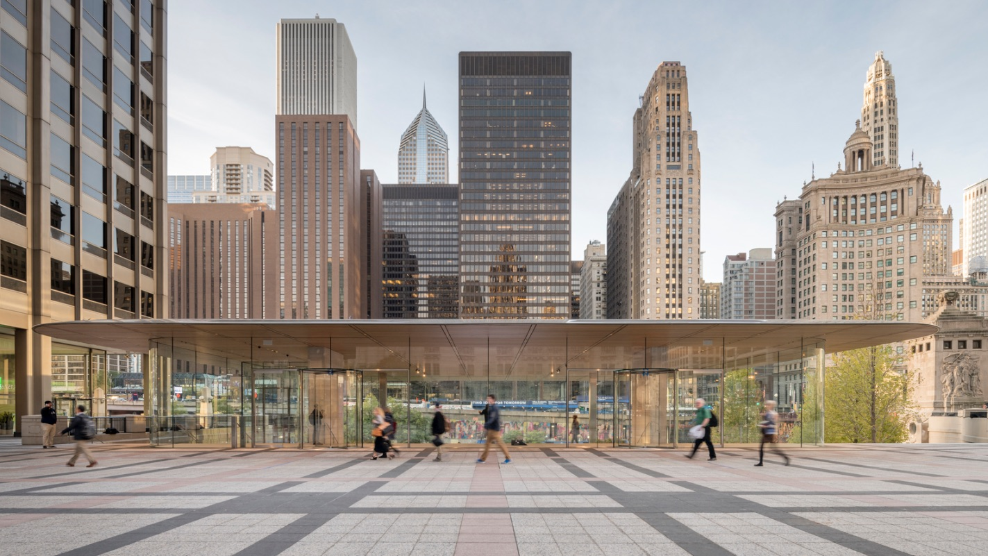 2_Apple Store Chicago_Foster+Partners_Inspirationist