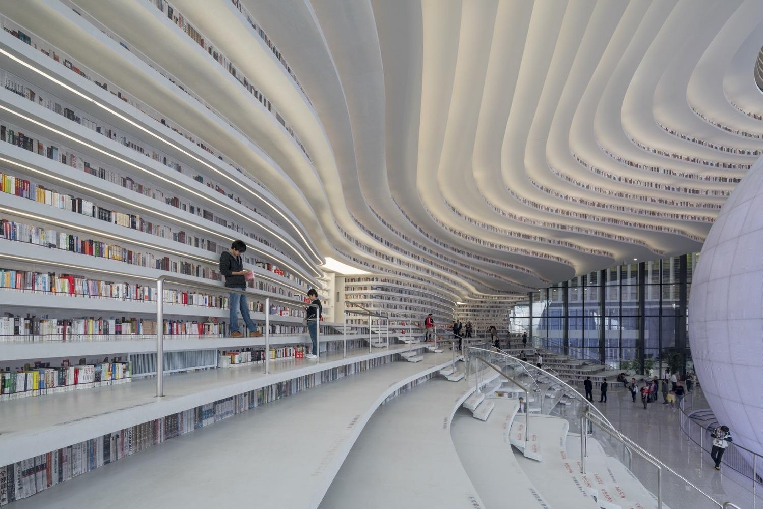 3_Tianjin Binhai Library_MVRDV_Inspirationist