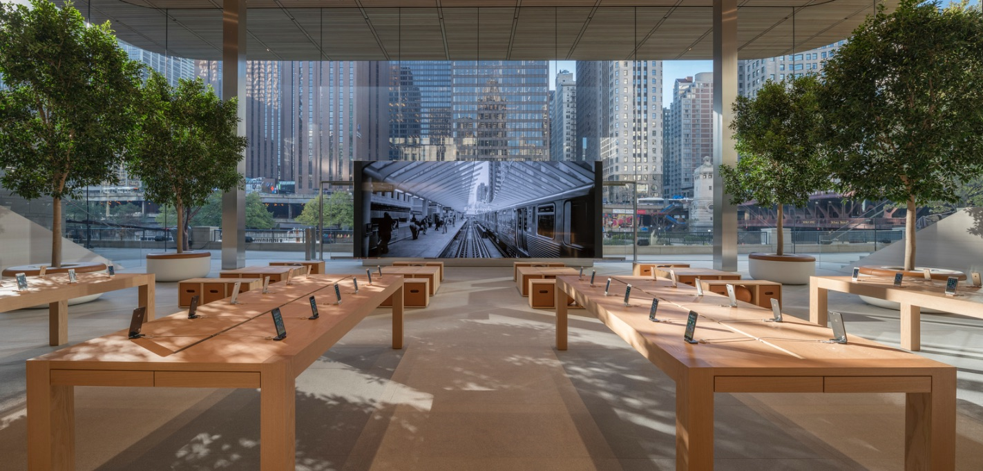8_Apple Store Chicago_Foster+Partners_Inspirationist