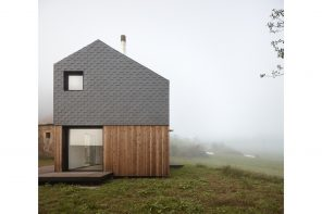 A prefabricated house in Spain assembled in 5 hours