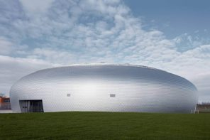 Dolní Břežany Sports Hall: a dome that draws the scale closer to humans