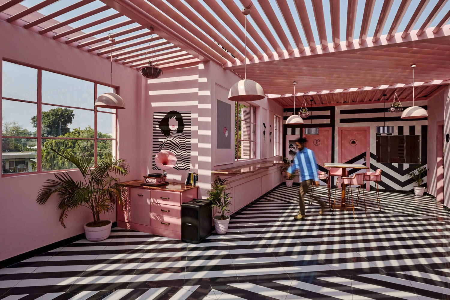 1_The Pink Zebra_Renesa Architecture Design Interiors_Inspirationist