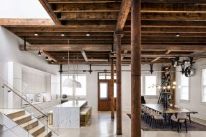 A full residence renovation in a former propeller pattern factory