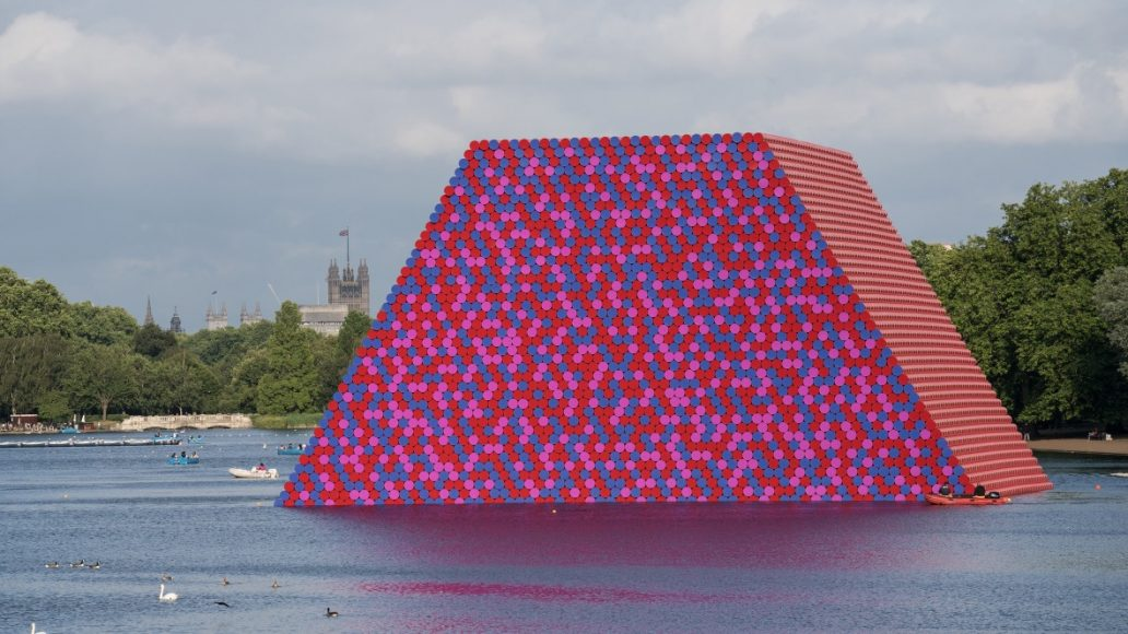 1_The London Mastaba_Christo and Jeanne Claude_Inspirationist