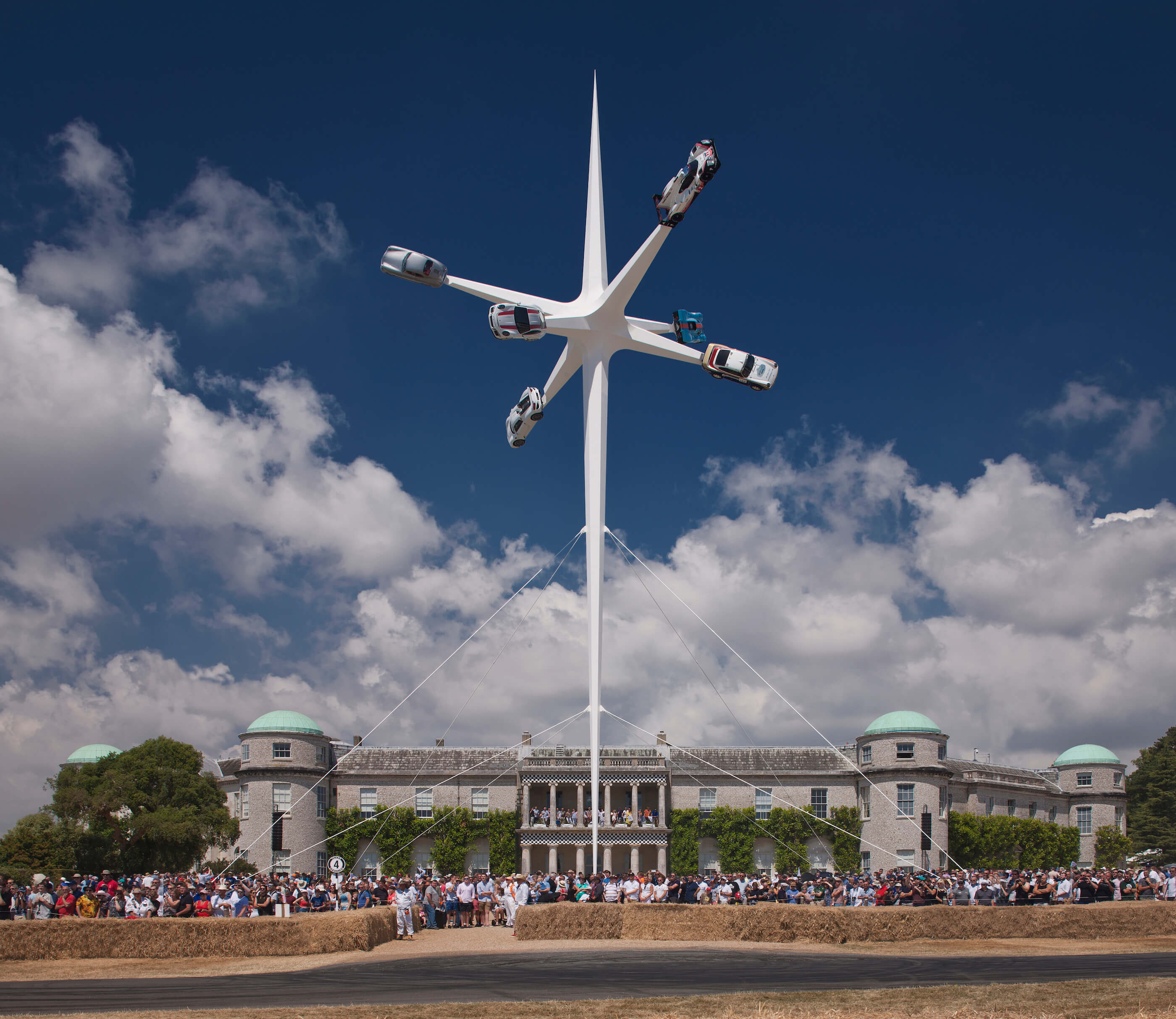 1_Gerry Judah_Goodwood Festival of Speed 2018 Sculpture_Inspirationist