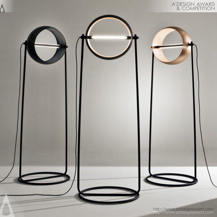 Globe Floor Lamp by Edoardo Colzani