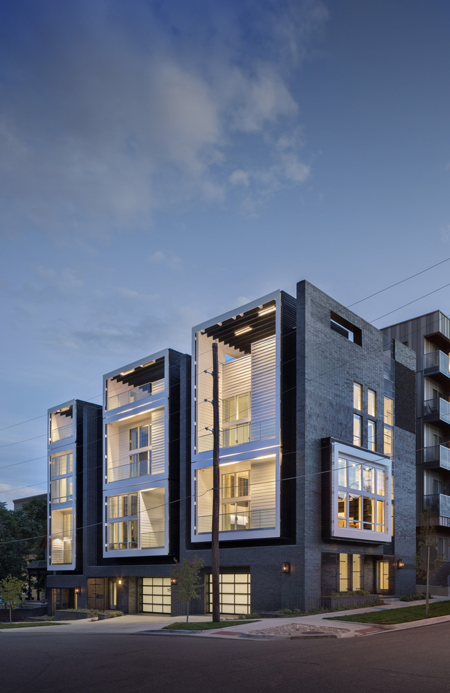 6_18th & Boulder Townhomes_Meridian 105 Architecture_Inspirationist