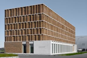 City Archive Delft's facade is inspired by the elaborated tradition of the city's brick buildings